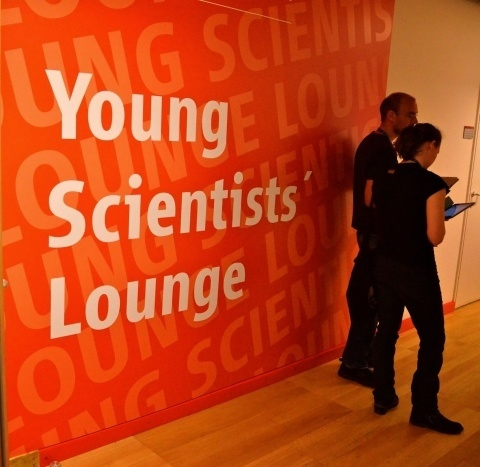 The YS Lounge at the 2014 General Assembly.
