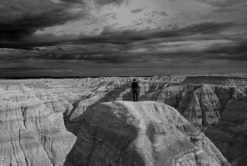 Badlands national park, South Dakota, USA by Iain Willis (distributed via imaggeo.egu.eu).