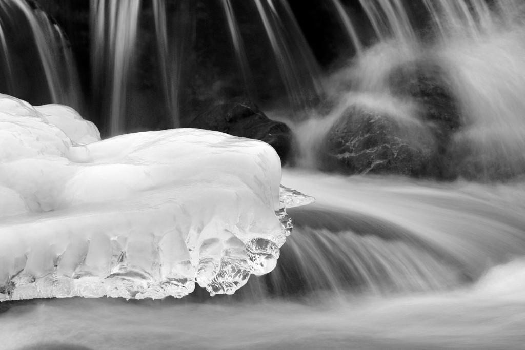 Mountain stream in winter. Credit: Daniele Penna (distributed via imaggeo.egu.eu)