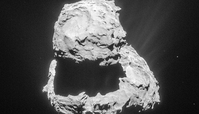 Scientists share new observations from comet-chasing Rosetta Mission