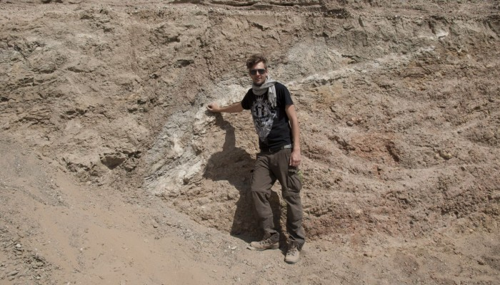 GeoTalk: Meet Andi Rudersdorf, winner of I'm a Geoscientist 2015!