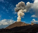 Studying an active volcano – in pictures