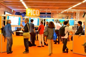 A PICO spot at the EGU 2015 General Assembly. (Credit: EGU/Stephanie McClellan)