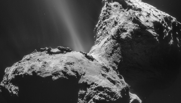 Geosciences Column: What made the comet sing?