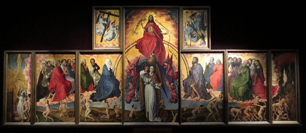 Polyptyque du Jugement dernier by R. Van der Weyden (source: Wikimedia Commons) https://commons.wikimedia.org/wiki/File:Polyptyque_du_Jugement_dernier.jpg
