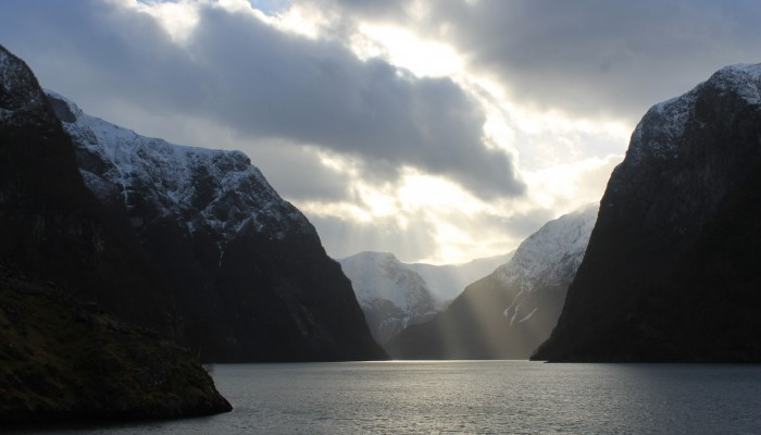 Imaggeo on Mondays: The world's narrowest fjord