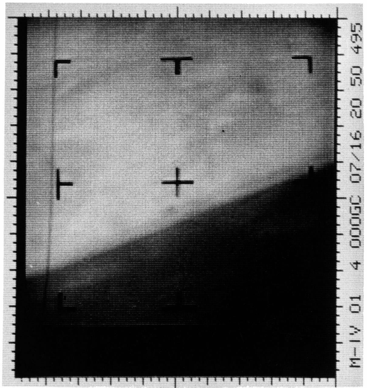 The first Mars photograph and our first close-up of another planet. A representation of digital data radioed by the Mariner 4 spacecraft on 15th July 1965. (Credit: NASA/JPL-Caltech/Dan Goods)