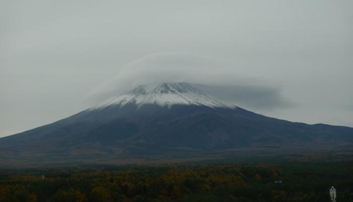 Imaggeo on Mondays: night cap over Mt. Fuji