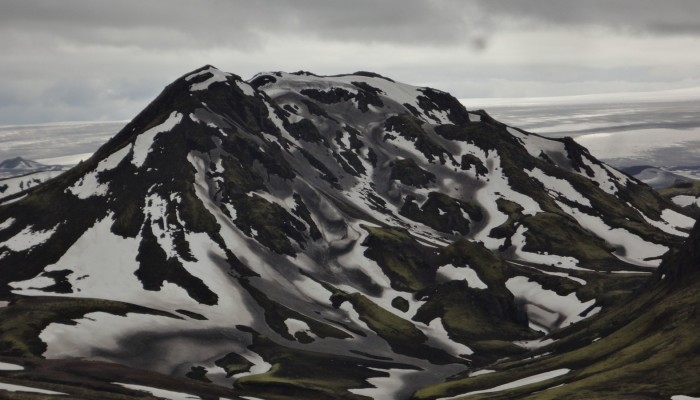 Imaggeo on Mondays: Snow and ash in Iceland