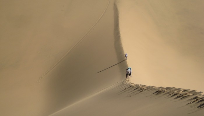 Imaggeo on Mondays: Dune ridge perspective