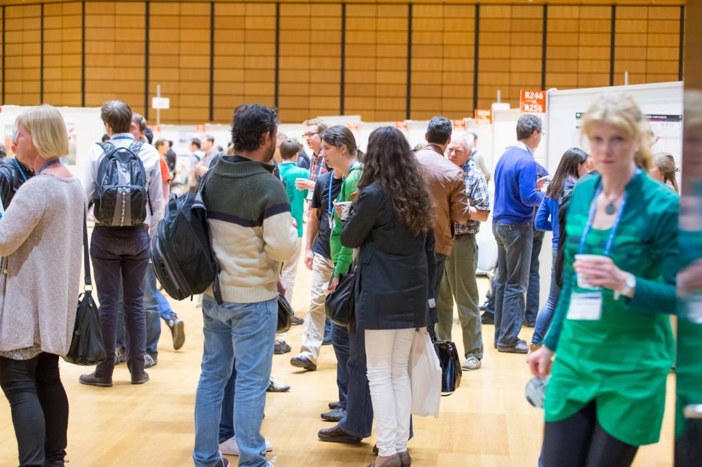 Packed poster hall at last year's General Assembly (Credit: EGU/Foto Pfluegl)