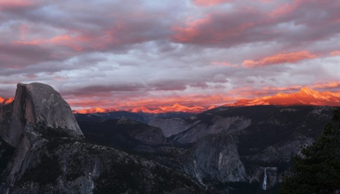 Imaggeo on Mondays: Half dome at sunset