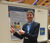 Geo Talk: One of the youngest EGU 2016 General Assembly delegates sends sensor to space