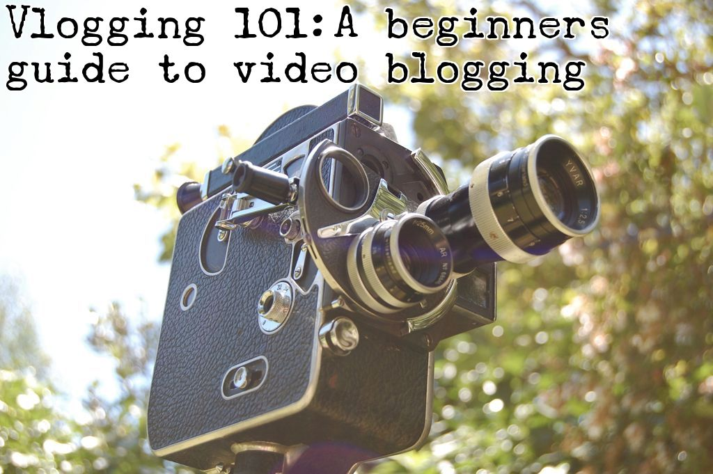 A how to guide to help you get started in the world of vlogging. (Credit: Flickr user Isaac)