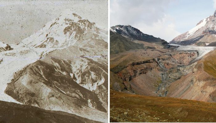 The final days of the mountain glaciers