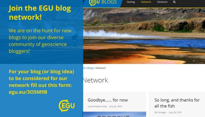Revamping the EGU blog network: call for bloggers