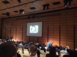 Matt Taylor speaking at the 2016 General Assembly. Credit: Laura Roberts/EGU