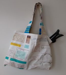 What if your poster could become a handy tote bag? Credit: REpost/Sandra de Vries