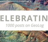 This calls for a celebration: GeoLog's 1000 post!