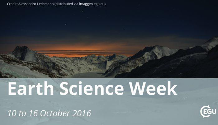 Celebrating Earth Science Week!