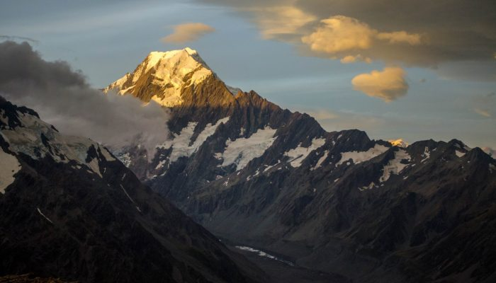 Imaggeo on Mondays: Aoraki & a round-up of the latest New Zealand earthquake news