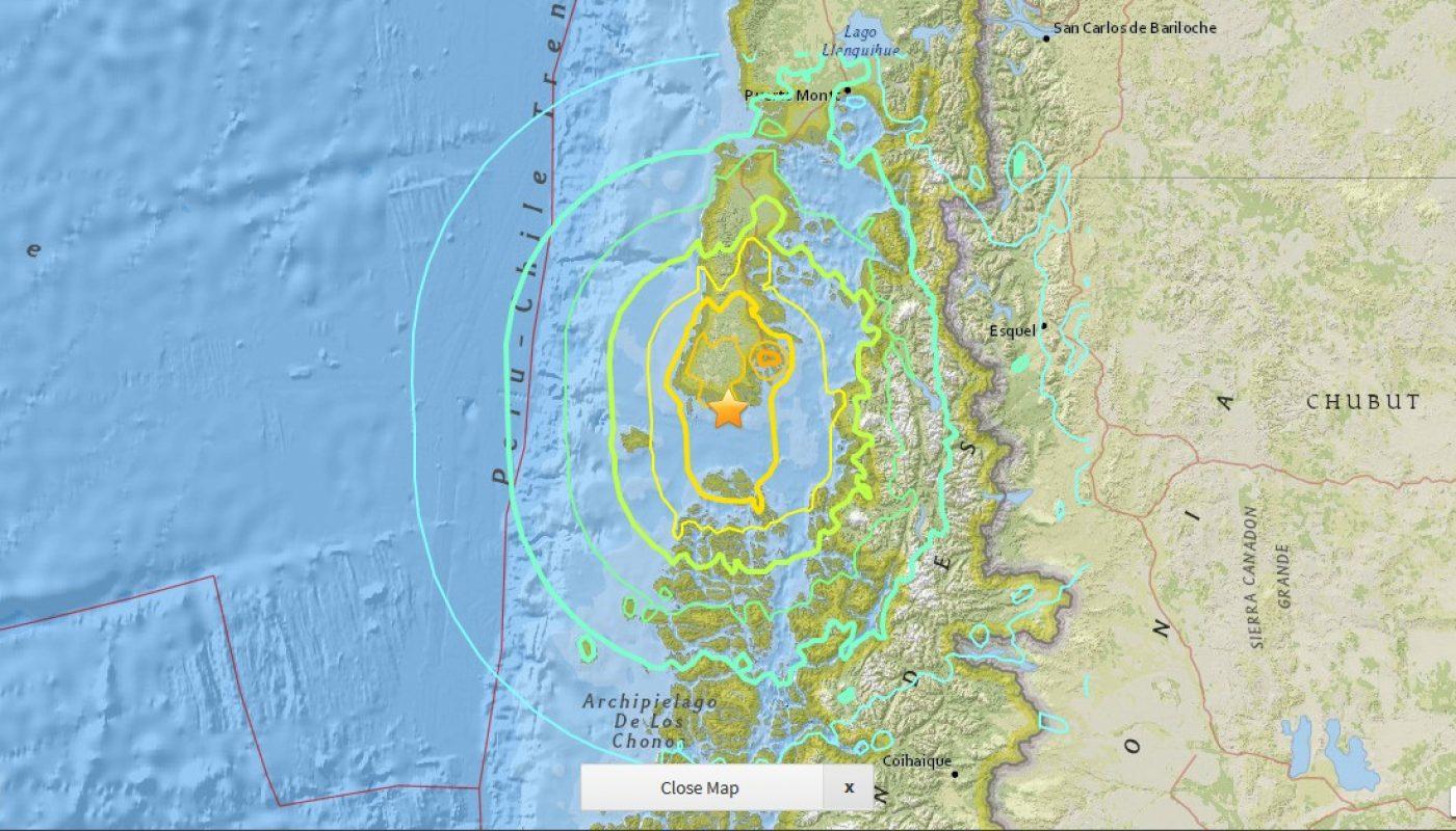 1960 Chile Earthquake Map.Geolog Valdivia Earthquake Archives Geolog