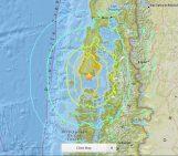 Chile, Chiloe earthquake