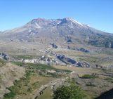 Mount St Helen's, Washington, seen from Johnston Ridge.