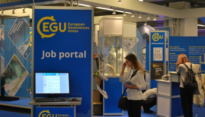 Head on over to the EGU Booth!