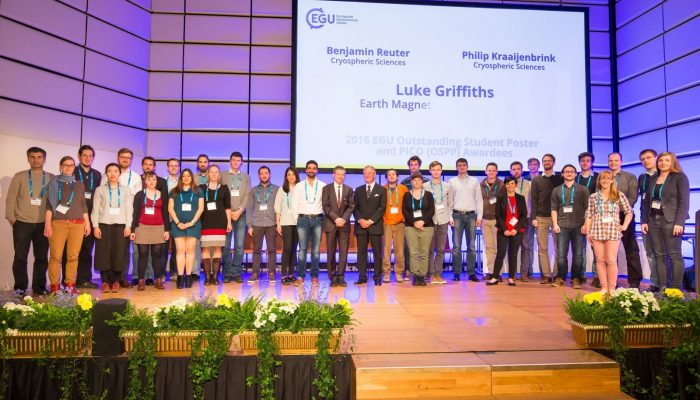 EGU announces 2018 awards and medals
