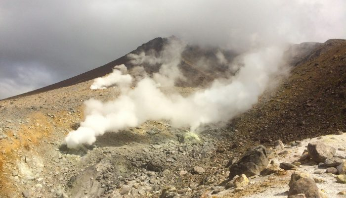 Imaggeo on Mondays: Smoking mountain top
