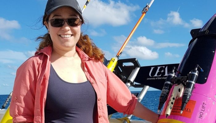 GeoTalk: Eleanor Frajka-Williams, the 2017 Ocean Sciences Division Outstanding Early Career Scientists Awardee