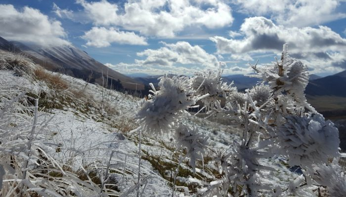 Imaggeo on Mondays: Winter threatens to freeze over fieldwork