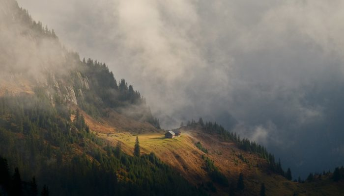 Imaggeo on Mondays: Refuge in a cloudscape