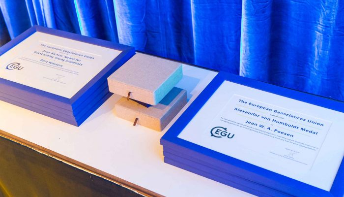 Treat that brilliant early career scientist to an EGU award nomination