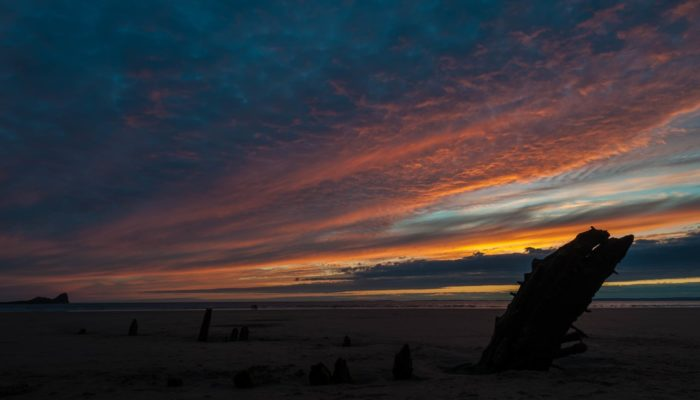 Imaggeo on Mondays: The Gower Peninsula, a coast marked by time