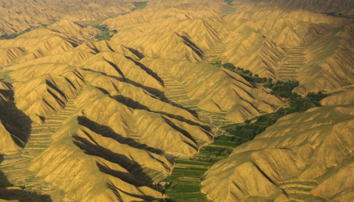 Imaggeo on Mondays: Life between the arid mountains of Gansu, China