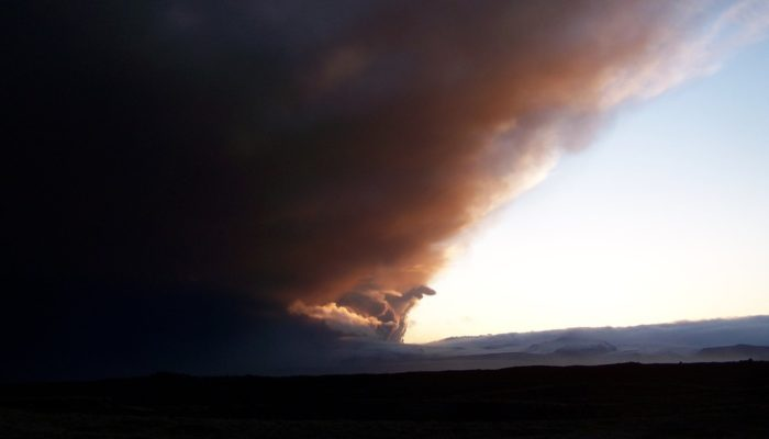 Imaggeo on Mondays: The ash cloud of Eyjafjallajökull approaches