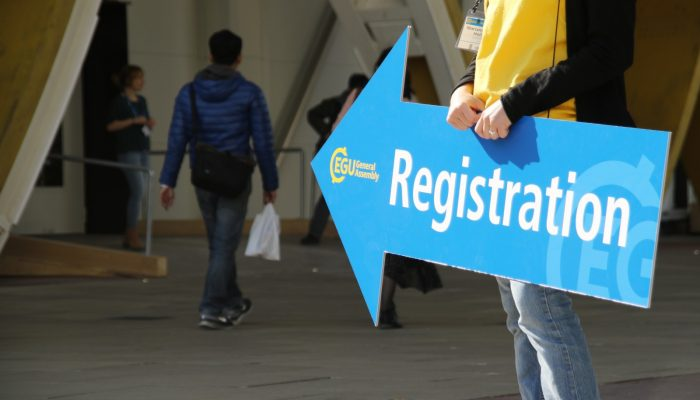 EGU 2020: Registration open & townhall and splinter meeting requests
