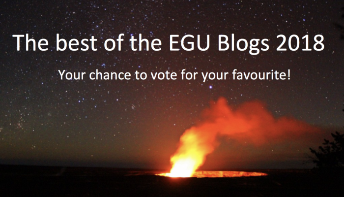 Looking back at the EGU Blogs in 2018: a competition