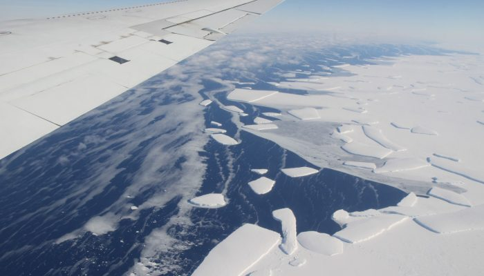 Geosciences Column: Scientists pinpoint where seawater could be leaking into Antarctic ice shelves