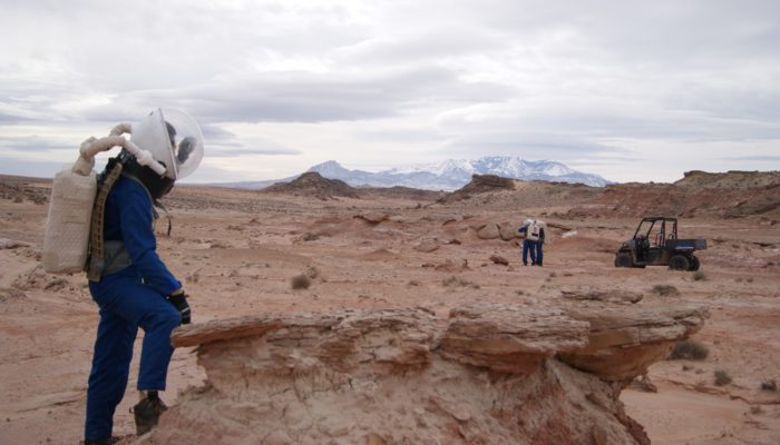 Imaggeo on Mondays: Simulating a mission on Mars