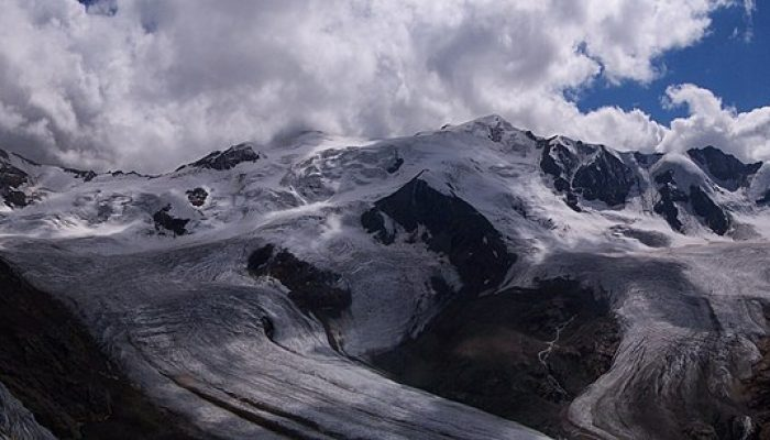 First evidence of microplastics on mountain glaciers
