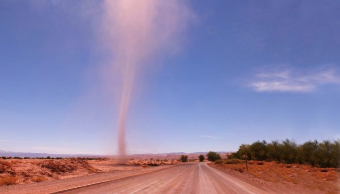 Imaggeo on Mondays: Dust devil sighting in the Atacama Desert