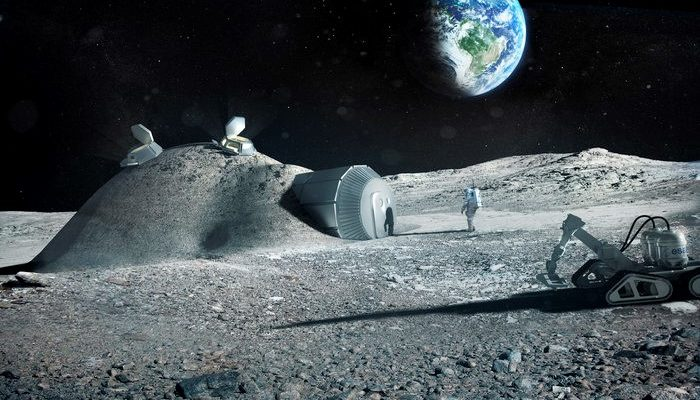 IGLUNA: students work towards building an icy human habitat on the Moon!