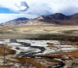 Imaggeo on Mondays: Sand and snow on the Tibetan Plateau