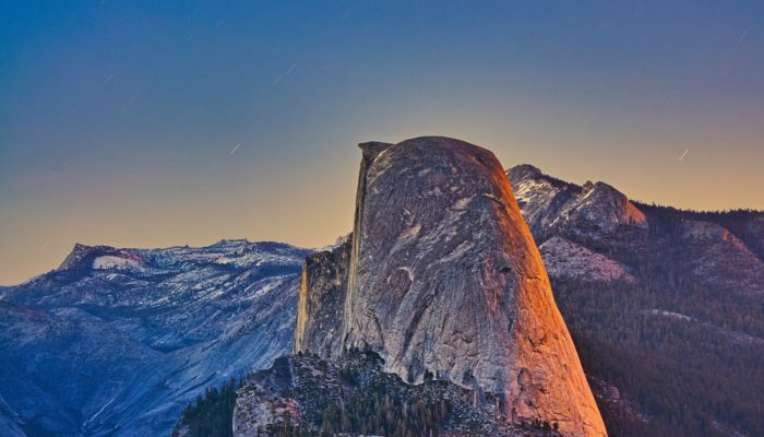 Imaggeo on Mondays: Sunset and moonrise at Yosemite