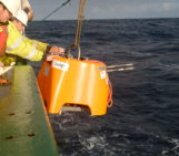 Weathering the storm from a research vessel