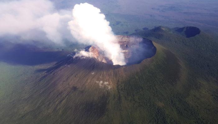 Geosciences Column: How erupting African volcanoes impact the Amazon's atmosphere