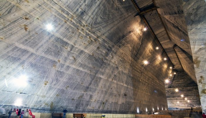 Imaggeo on Mondays: The salt mine carving into the Carpathians